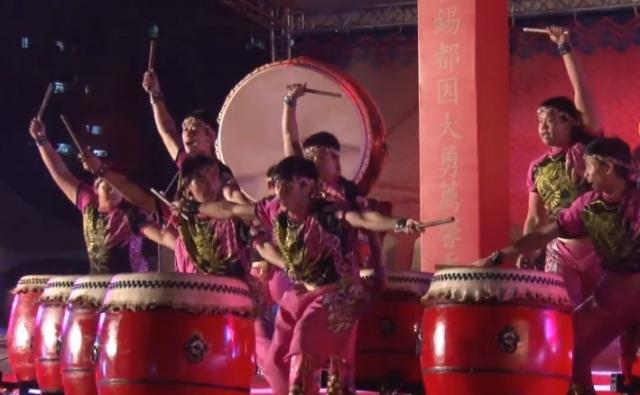中正紀念堂演出傳統陣頭文化民俗技藝