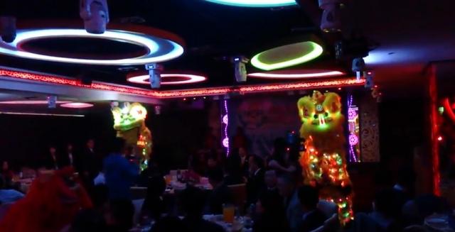 勁騰LED電光龍晚宴表演